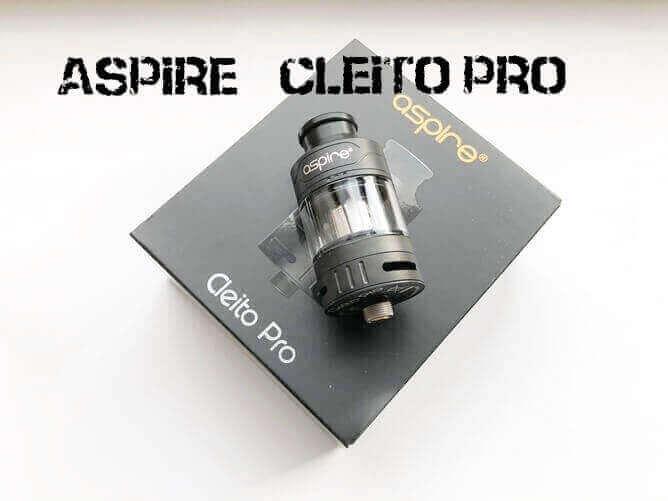 Aspire Cleito Pro アイキャッチ