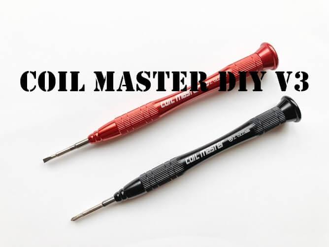 COIL MASTER DIY ツール キット V3 ドライバー