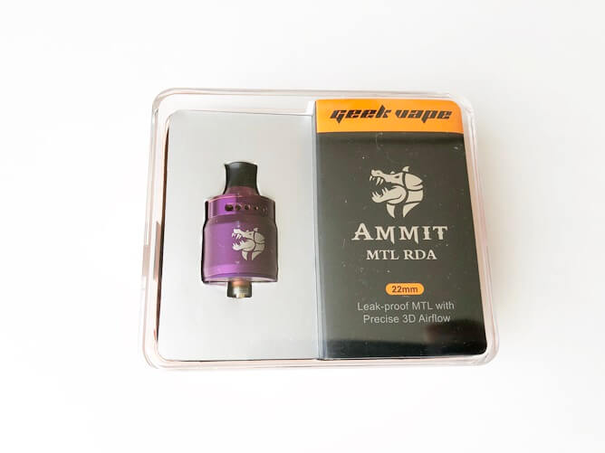 AMMIT MTL RDAパッケージ