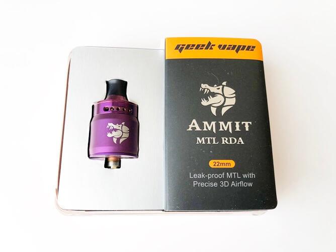 AMMIT MTL RDA開封
