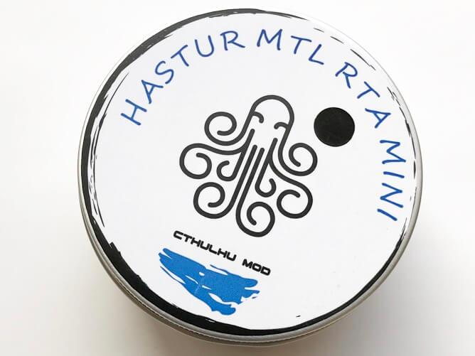 Cthulhu MOD Hastur MTL RTA mini パッケージ