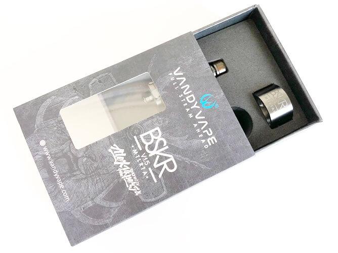 VandyVape V1.5 MTL RTAパッケージを開封