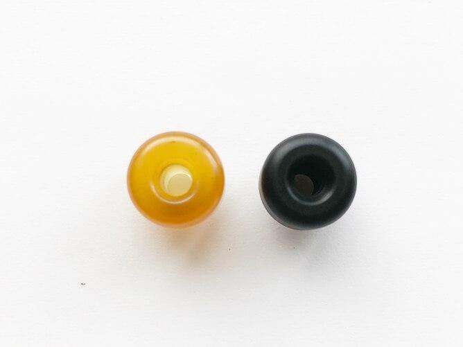 VandyVape V1.5 MTL RTA 吸い口を付属品と比較