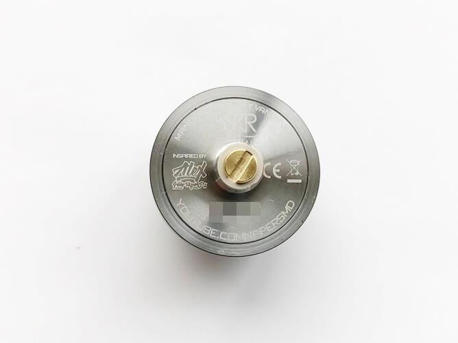 VandyVape V1.5 MTL RTA デッキ裏
