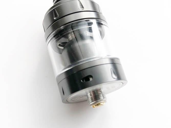 VandyVape V1.5 MTL RTA エアフロー調整位置
