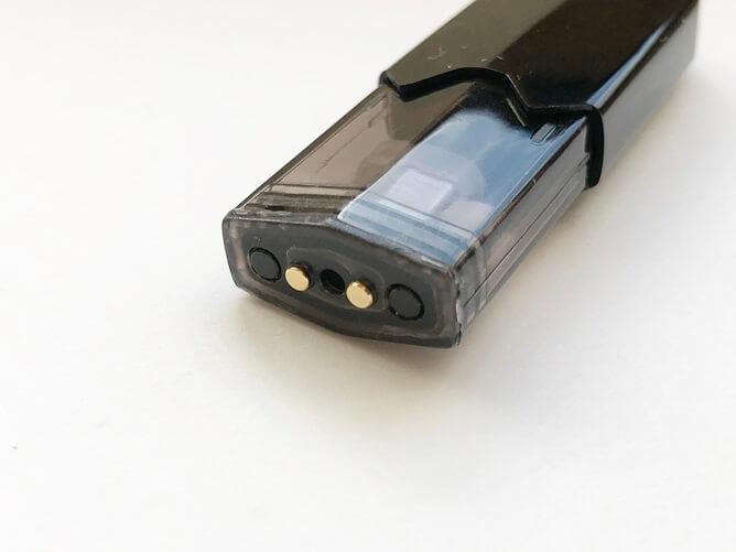 タバコカプセル対応Podの底部