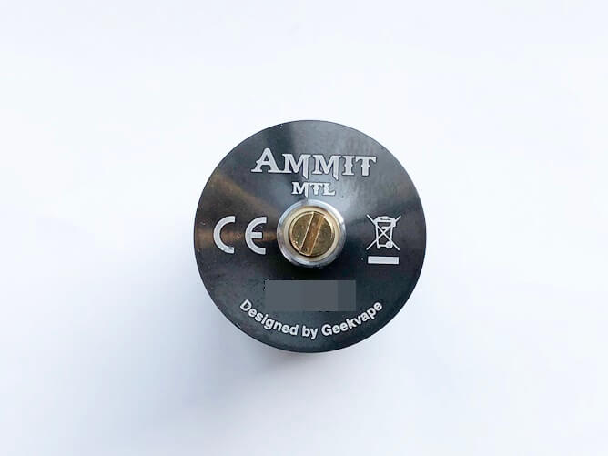 GeekVape AMMIT MTL RTA デッキ裏