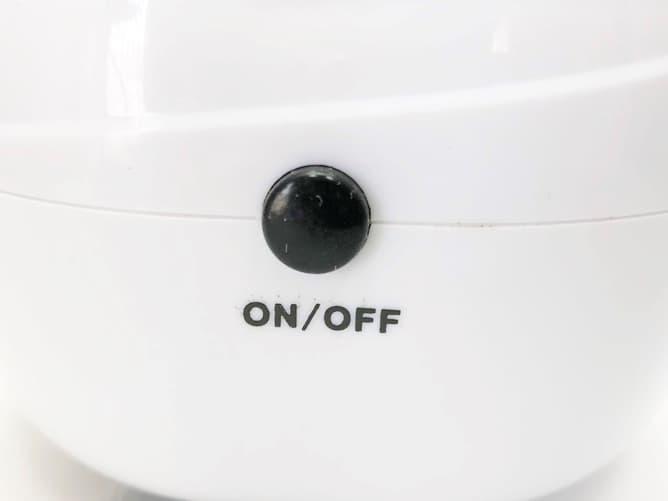 超音波洗浄機(激安)操作ボタン