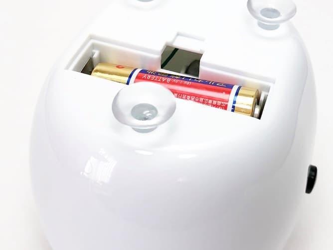 超音波洗浄機(激安)バッテリー入らない