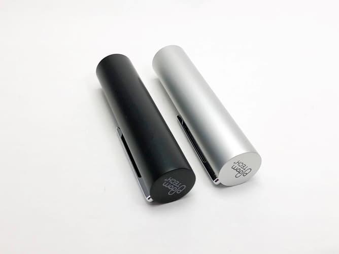 プルームテックプラス専用「メタルキャップ」シルバー、ブラック