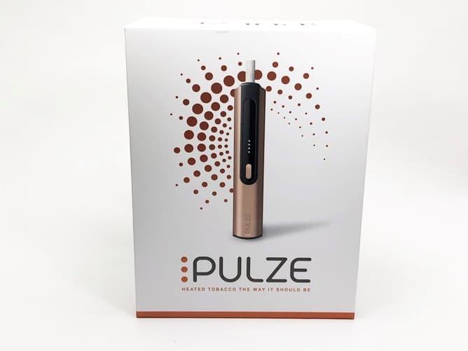 加熱式タバコ「PULZE」パッケージ