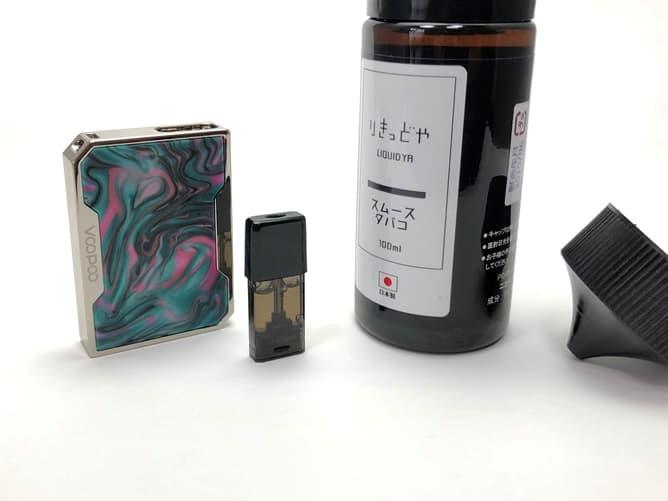 DRAG Nano Pod(りきっどやのリキッド)