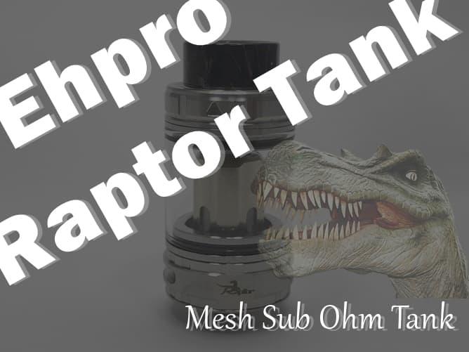 Ehpro Raptor Tank(エプロ ラプター タンク)アイキャッチ
