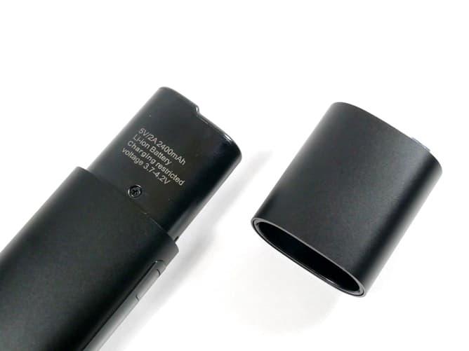 アイコス互換機(QOQ honor max)バッテリー容量