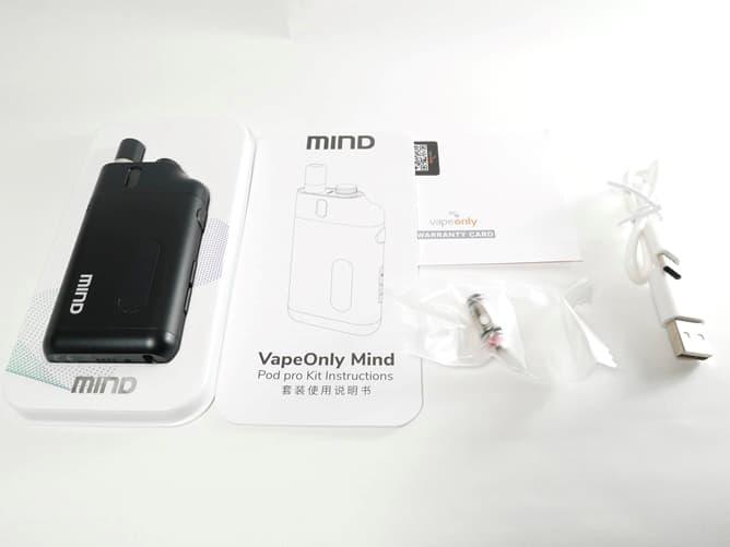 MIND Pod(パッケージ)付属品