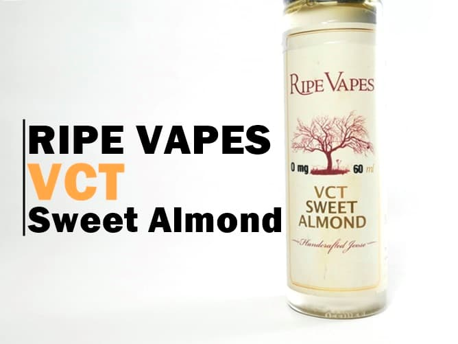 VCT Sweet Almond(スイートアモンド)リキッド アイキャッチ画像