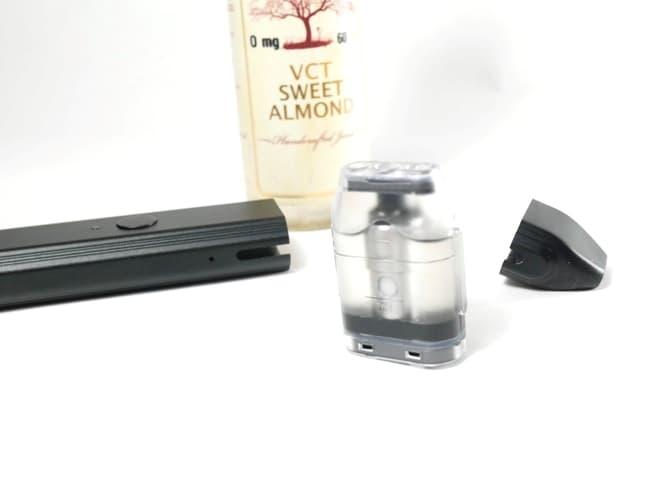 VCT Sweet Almond(スイートアモンド)リキッドをPOD型で吸ってみた