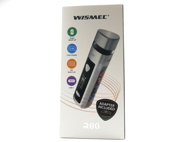 wismec(ウィズメック) R80 パッケージ