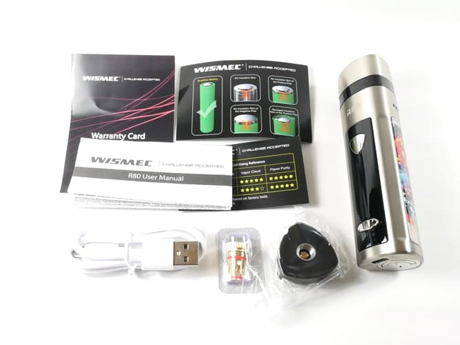 wismec(ウィズメック) R80 付属品