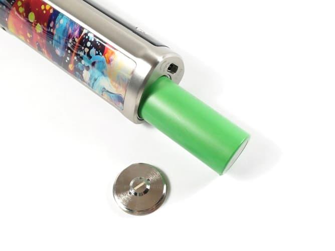 wismec(ウィズメック) R80 バッテリー挿入