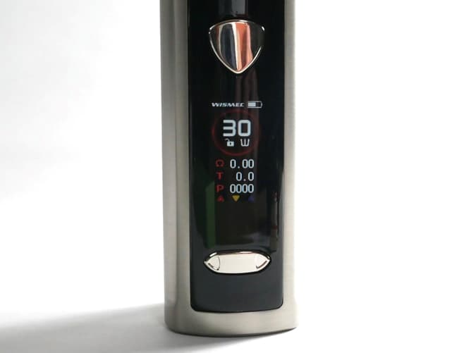 wismec(ウィズメック) R80 液晶ディスプレイ