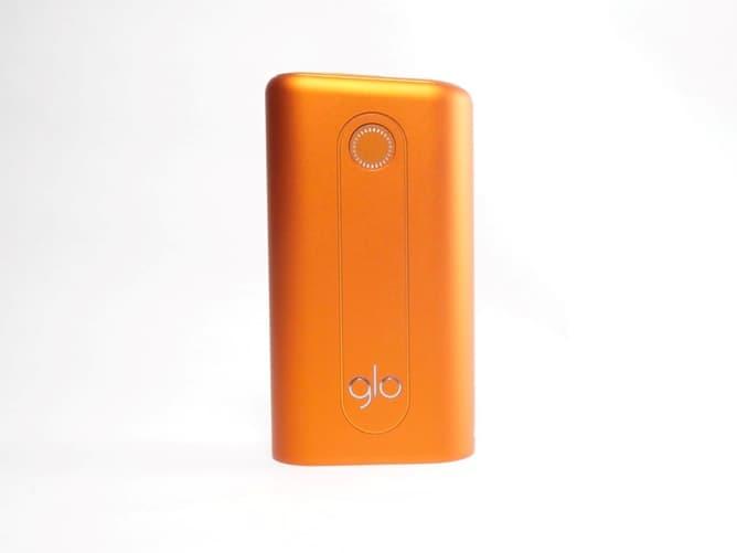 グローハイパー本体の電源ボタン