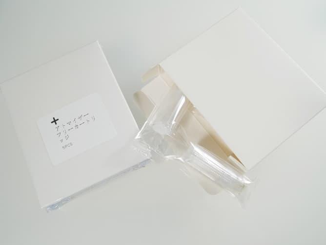 プルームテックプラス用の空カートリッジ(シンプルなパッケージ)