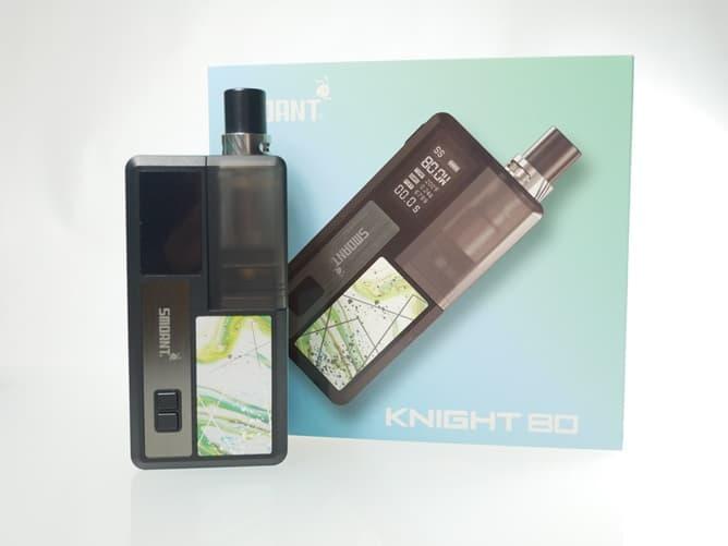 SMOANT KNIGHT80 本体とパッケージ