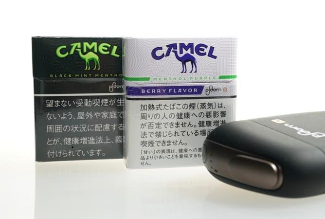 プルームエス CAMEL アイキャッチ画像
