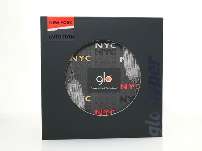 グローハイパー限定カラー(NYC)本体パッケージ