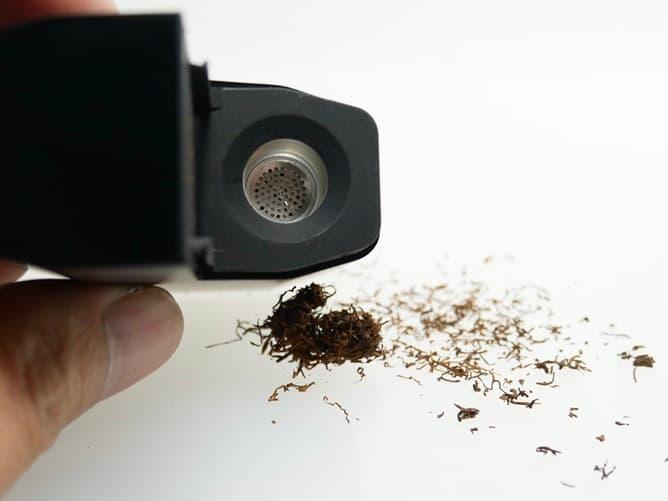 FENIX MINI PRO 喫煙後のチャンバー