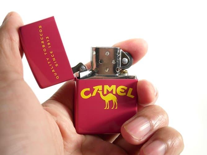 CAMEL オリジナル ジッポーライター(かわいい)