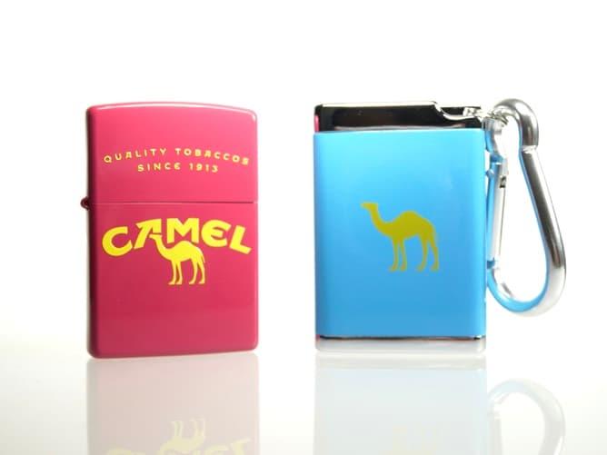 CAMEL オリジナル ジッポーライターとキャメルグッズ