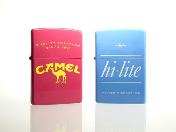 CAMEL オリジナル ジッポーライターとハイライトジッポー