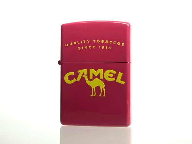 CAMEL オリジナル ジッポーライター(ポップなデザイン)