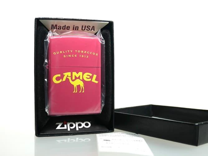 CAMEL オリジナル ジッポーライター(パッケージ開封)