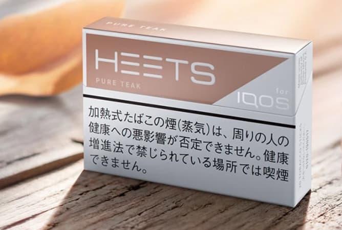 HEETS 新フレーバー(ピュアティーク)