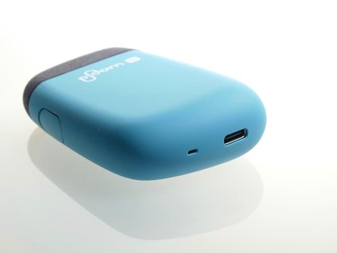プルームエス2.0(オーシャンロック)充電ポート部分