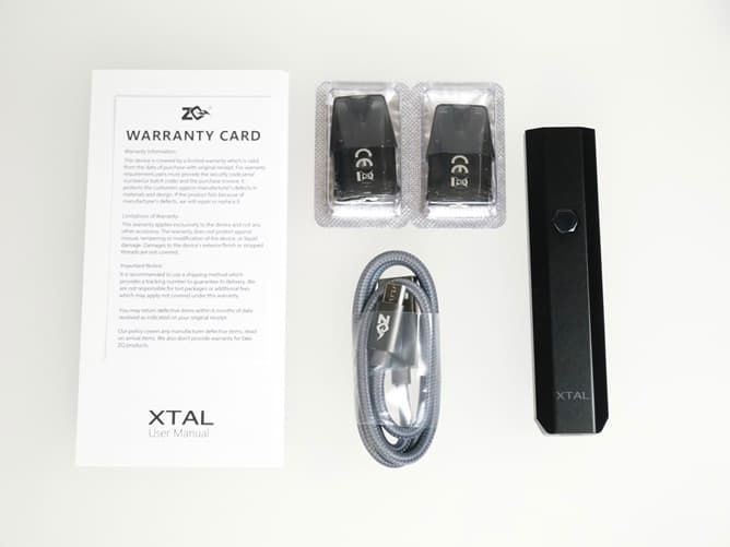 ZQ XTAL Pod(付属品)