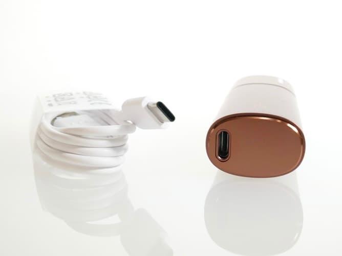 lil HYBRID(リルハイブリット)充電用ポート