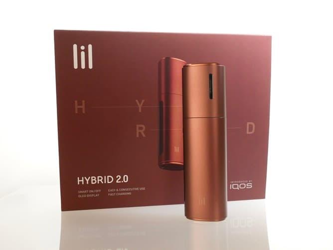 lil HYBRID(リルハイブリット)本体とパッケージ