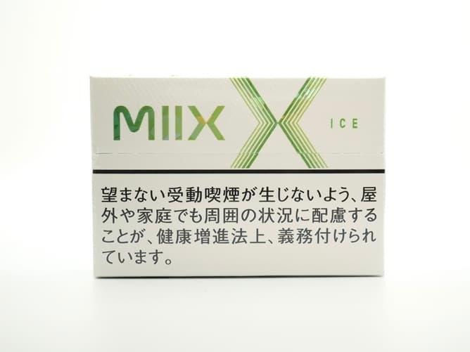 lil HYBRID MIIXフレーバー(ICEメンソール)