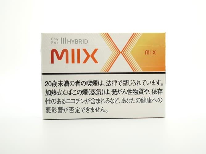 lil HYBRID MIIXフレーバー(MIXフレーバー系メンソール)