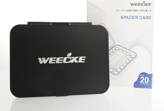 WEECKE CVAPOR&FENIX MINI専用スペーサーケース(本体とパッケージ)