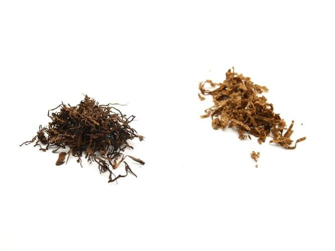 ARK X 専用タバコ葉をシャグと比較