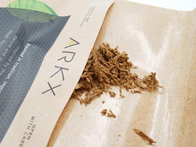 ARK X 専用タバコ葉はしっとりしている