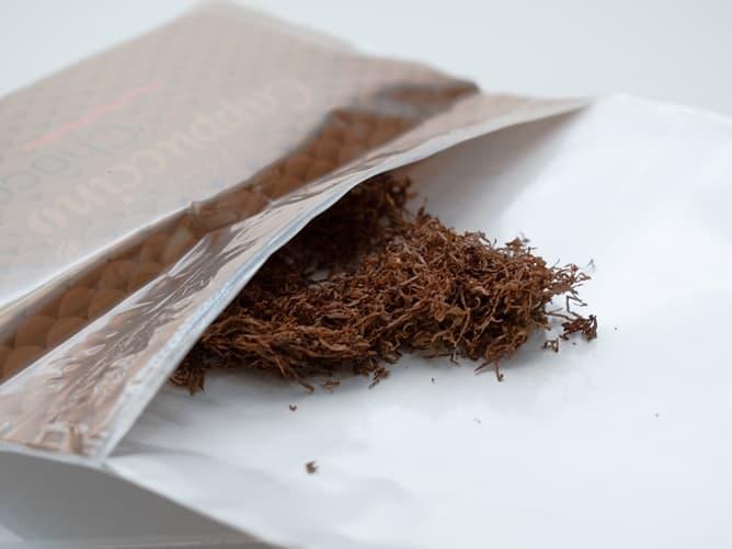 カプチーノ チョコ タバコ葉は40グラム