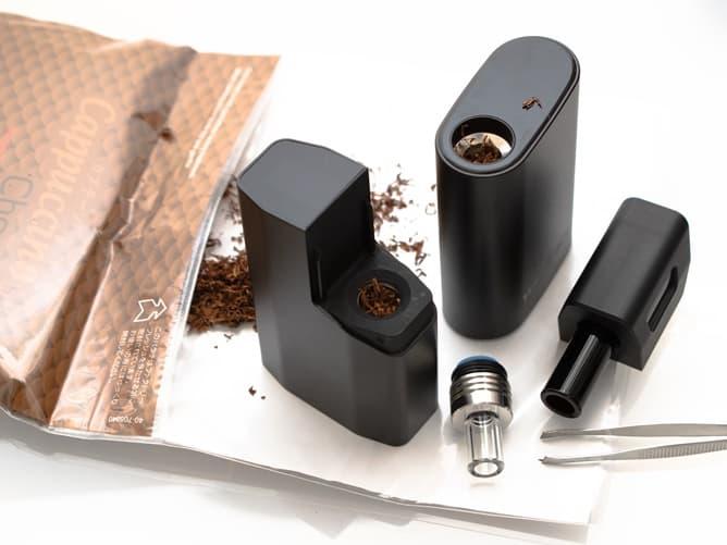 手巻きタバコ葉 カプチーノチョコ シャグをヴェポライザーに詰めてみた