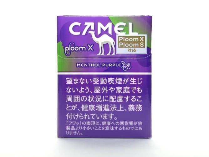 Ploom X(プルームエックス)専用フレーバー キャメル・メンソール・パープルを吸ってみた