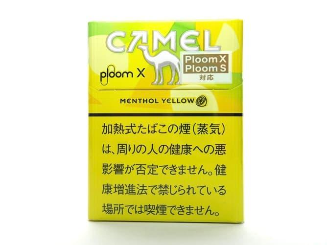 Ploom X(プルームエックス)専用フレーバー キャメル・メンソール・イエローを吸ってみた